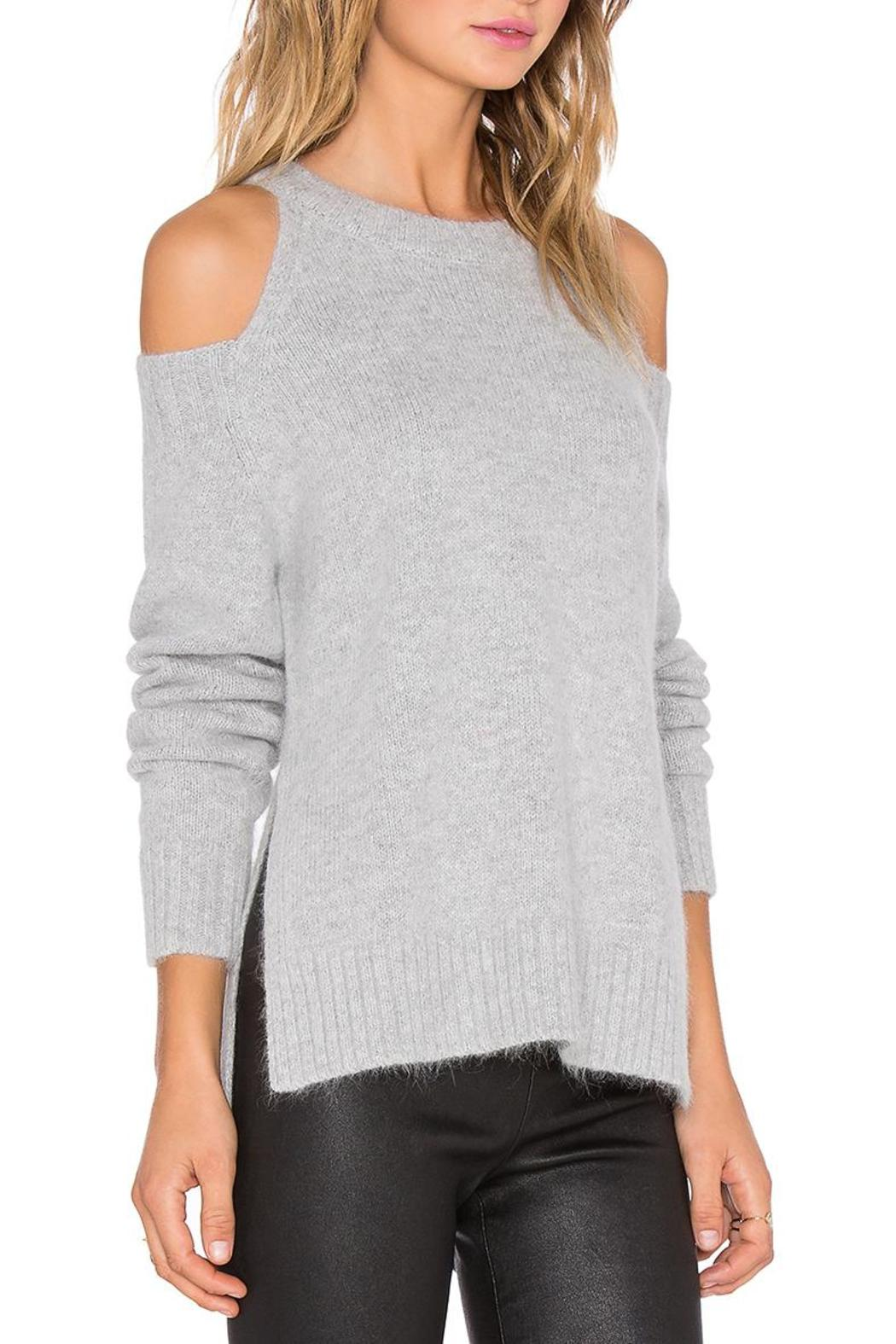 J.O.A. Cold Shoulder Sweater From New York By Village