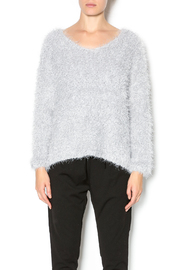 J.O.A. Grey Fluffy Sweater - Product Mini Image