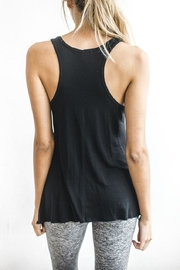 Joah Brown Asymmetrical Tank Top - Side cropped