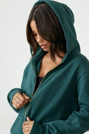 Joah Brown Empire Zip Hoodie - Product Mini Image