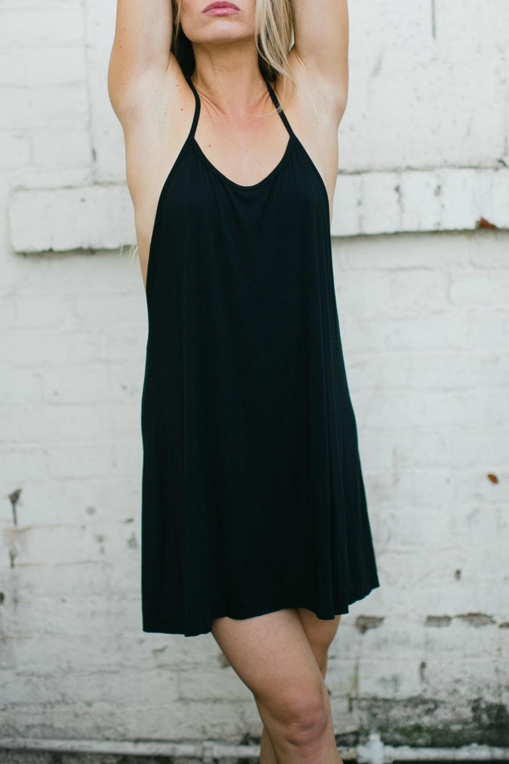 Joah Brown Free-Me Tank Dress - Front Cropped Image