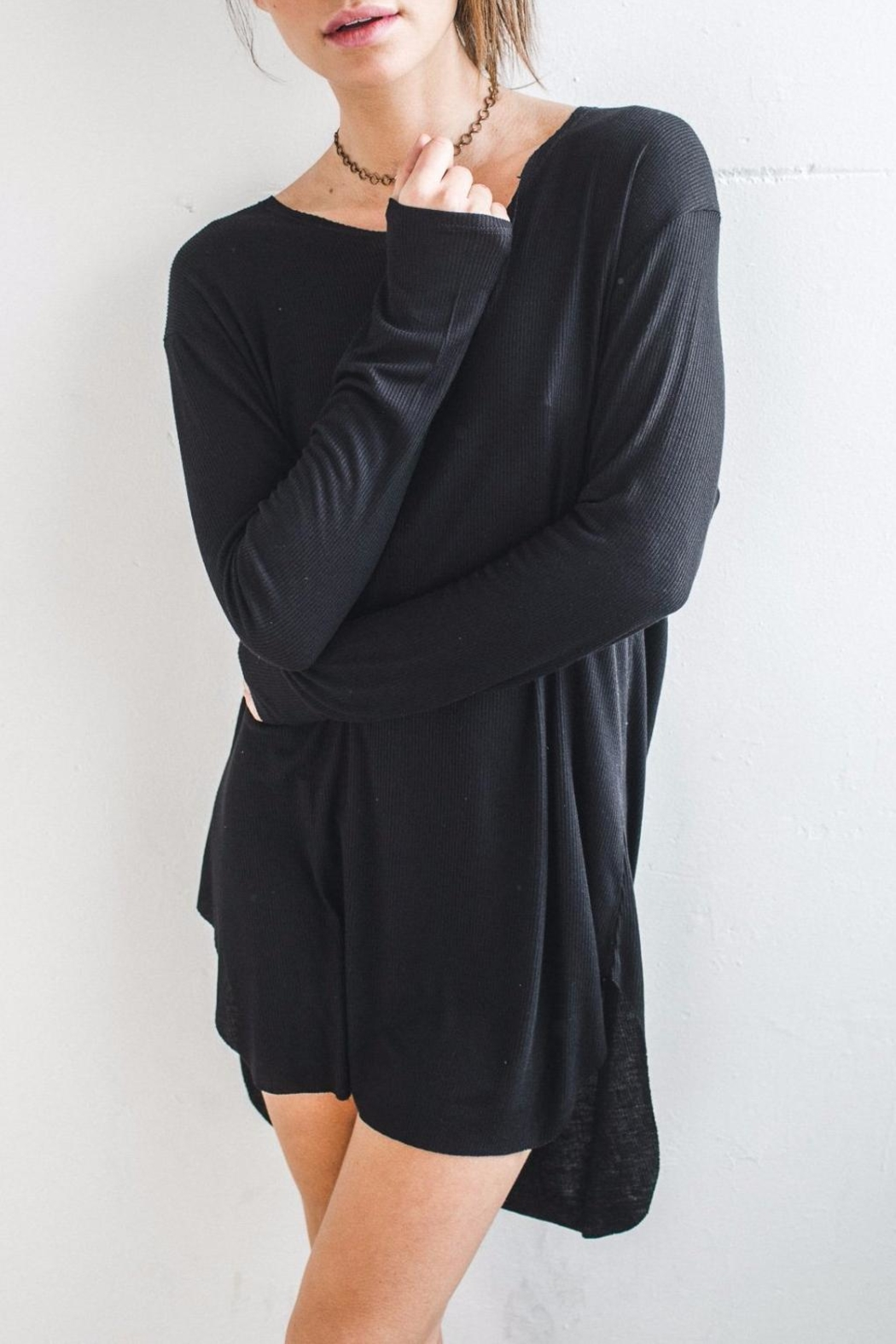 Joah Brown Knightingale Tunic Dress - Side Cropped Image