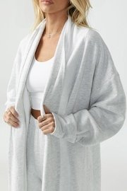 Joah Brown Oversized Cardigan - Product Mini Image