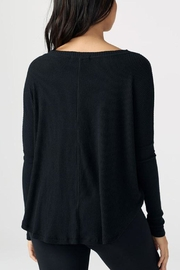 Joah Brown Relaxed Front Button Cardi - Side cropped