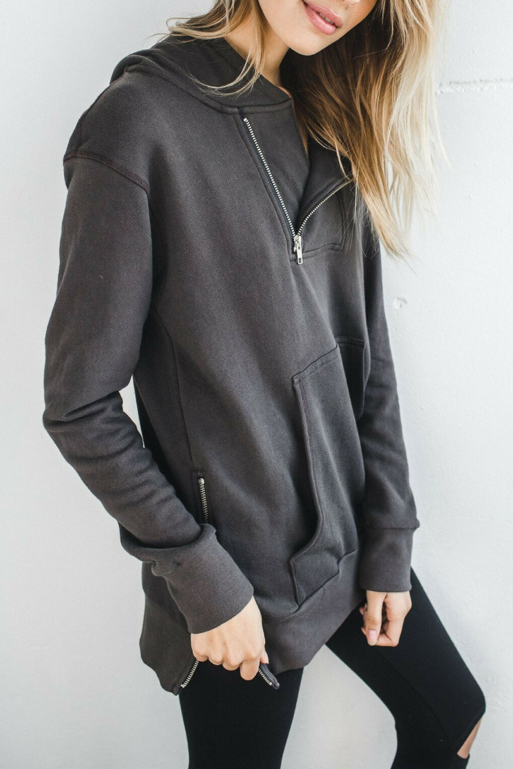 Joah Brown Renegade Zip Hoodie - Front Full Image