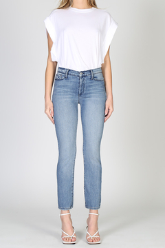 Black Orchid Denim Joan High Waisted Straight Jean - Product List Image