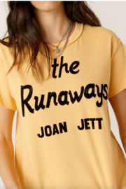 Daydreamer  JOAN JETT RUNAWAYS REVERSE GIRLFRIEND TEE - Product Mini Image