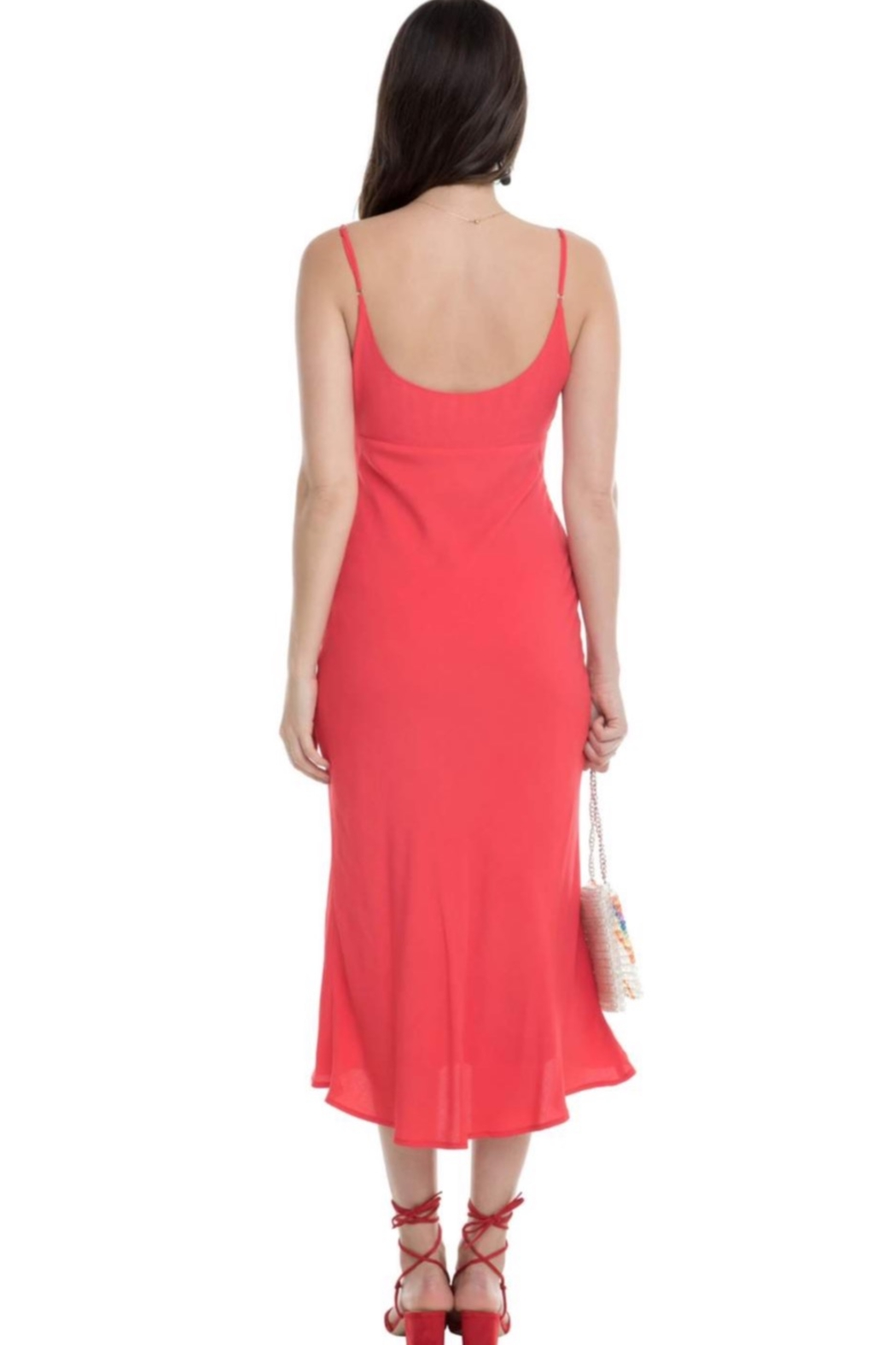 Aster Joan Midi Dress - Side Cropped Image