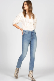 Black Orchid Denim Joan Straight - Front cropped