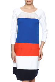 Joan Vass Color Block Dress - Product Mini Image