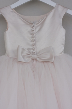 Joan Calabrese for Mon Cheri Blush Tulle Dress - Alternate List Image