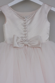 Joan Calabrese for Mon Cheri Blush Tulle Dress - Side cropped