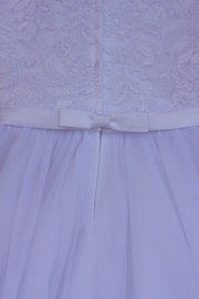 Joan Calabrese for Mon Cheri Lace Tulle Dress - Side cropped