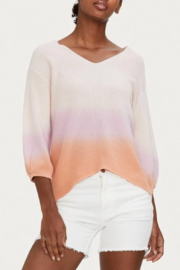 Michael Stars Joanne Dip Dye Pullover - Front cropped