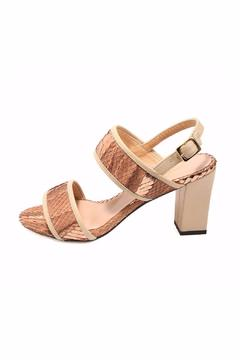 Joaquim Ferrer Brown-Gold Strappy Sandal - Product List Image