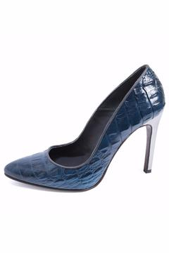 Joaquim Ferrer Croc-Design Blue Stiletto - Product List Image