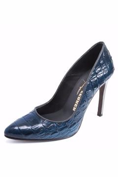 Joaquim Ferrer Croc-Design Blue Stiletto - Alternate List Image