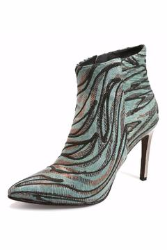 Joaquim Ferrer Crystal-Encrusted Ankle Booties - Alternate List Image