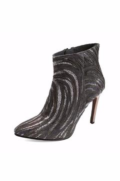 Joaquim Ferrer Crystal-Encrusted Black Booties - Alternate List Image