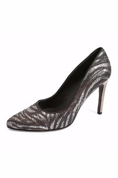 Joaquim Ferrer Crystal-Encrusted Black Stilettos - Alternate List Image
