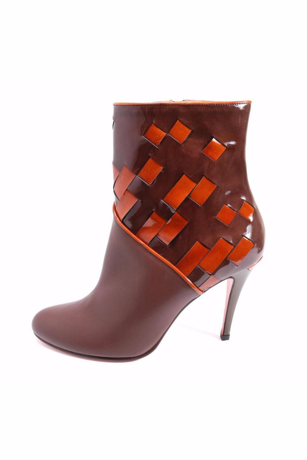 Joaquim Ferrer Two-Tone Ankle Bootie - Main Image