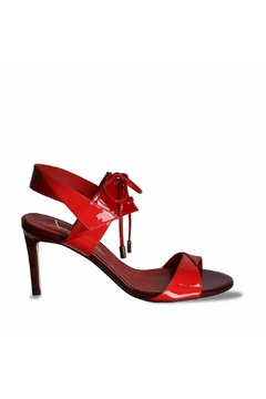 Joaquim Ferrer Two-Tone-Red Leather Sandals - Alternate List Image