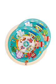 Hape  Jobs Roundabout Puzzle - Back cropped