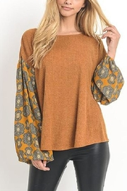 Jodifl Bell Sleeve Top - Product Mini Image