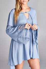 Jodifl Bell-Sleeve Tunic Top - Product Mini Image