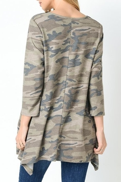 Jodifl Camouflage Lace Up Tunic - Alternate List Image
