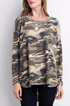 Shoptiques Product: Camouflage Top