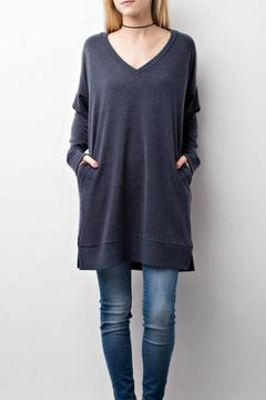 Shoptiques Product: Charcoal Sweater