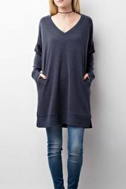 Jodifl Charcoal Sweater - Front full body