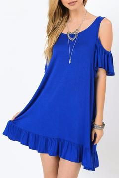 Jodifl Cold Shoulder Dress - Alternate List Image