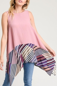 Shoptiques Product: Contrast sleeveless top