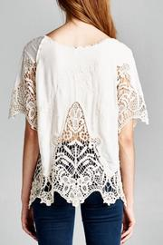 Jodifl Embroidered Crochet Blouse - Side cropped