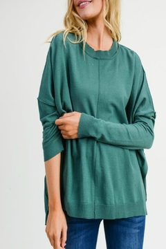Jodifl Faux-Cashmere Sweater Top - Product List Image