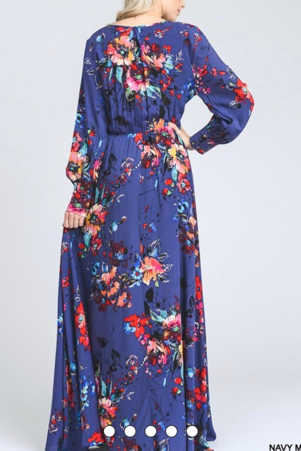Jodifl Flirty Floral Maxi - Front Full Image