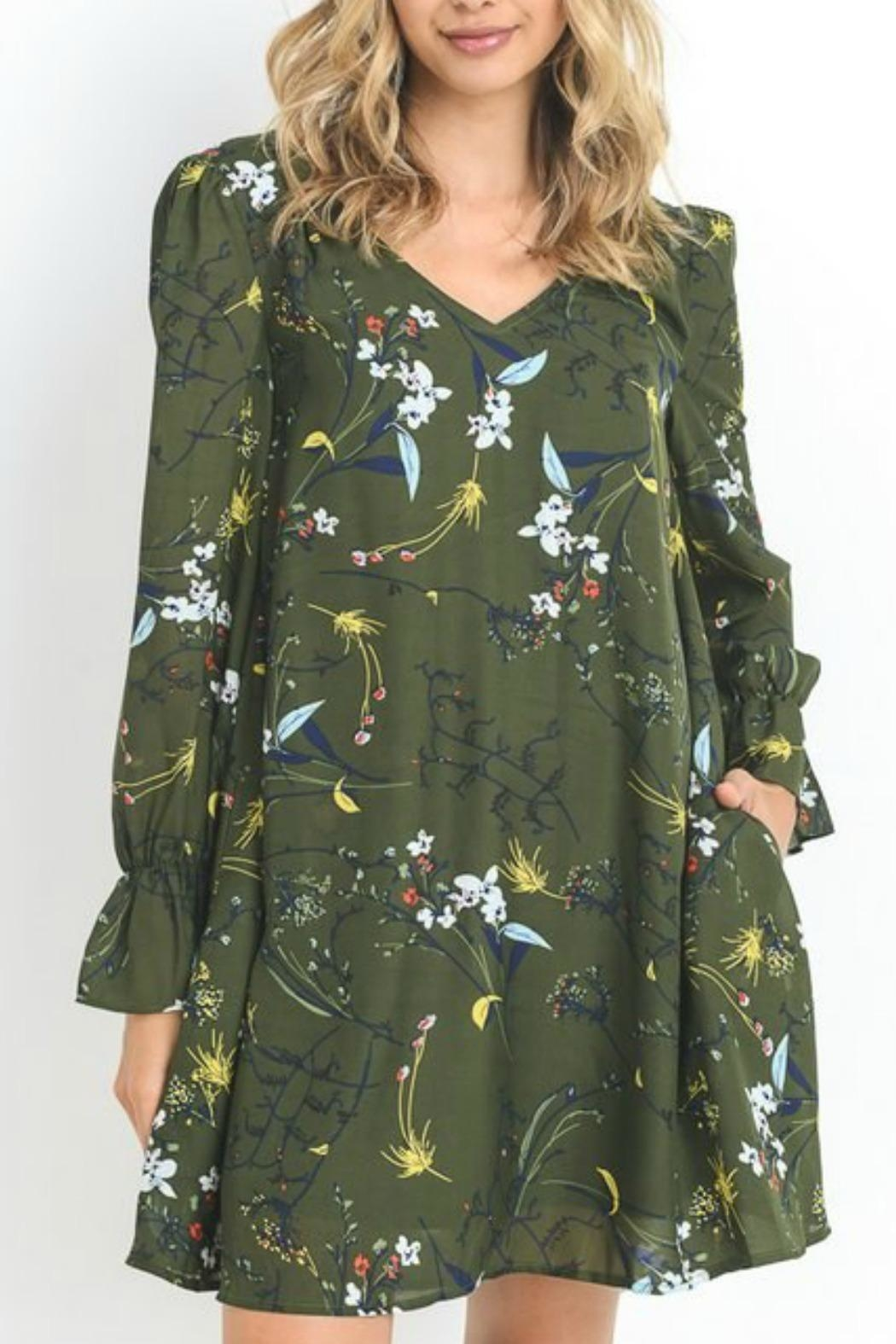 Jodifl Flora Dress - Front Cropped Image