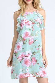 Jodifl Floral Halter Dress - Product Mini Image
