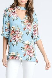 Jodifl Floral Mock-Neck Top - Product Mini Image