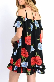 Jodifl Floral Off-The-Shoulder Dress - Side cropped