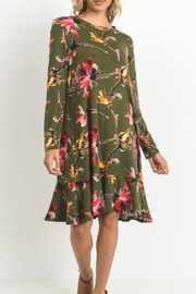 Jodifl Floral Print Dress - Product Mini Image