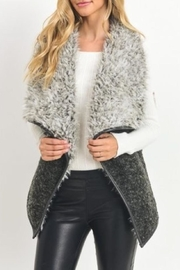 Jodifl Flyaway Faux-Fur Vest - Side cropped
