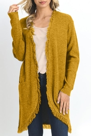 Jodifl Knit Long Cardigan - Front cropped