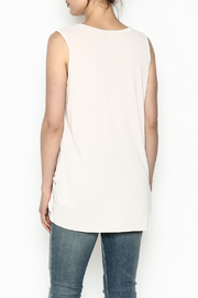 Jodifl Knotted Relaxed Tee - Back cropped