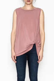 Jodifl Knotted Relaxed Tee - Front full body