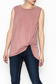 Jodifl Knotted Relaxed Tee - Front cropped