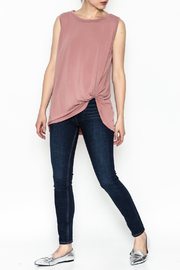 Jodifl Knotted Relaxed Tee - Side cropped