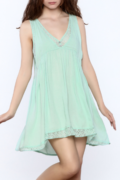 Jodifl Mint Lace Dress - Product List Image